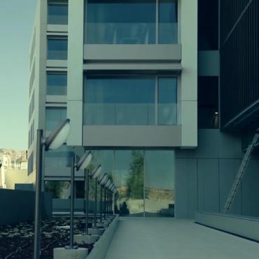 Instalación fachada ventilada Dekton