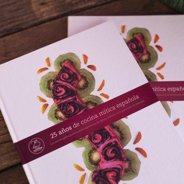 """Foto portada libro """"25 años de cocina mítica española"""""""